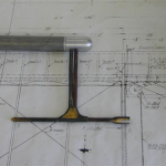 New machined tip on pitot tube