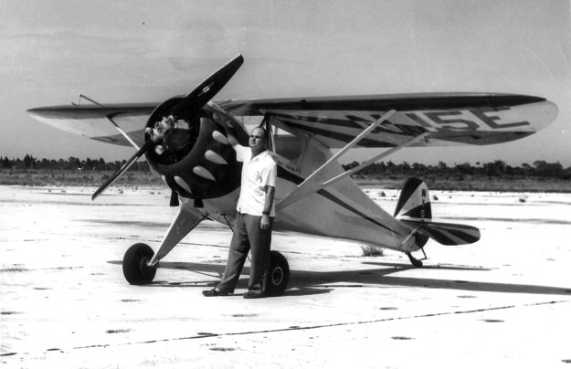 Walt Jackson and Monocoupe 110 N15E
